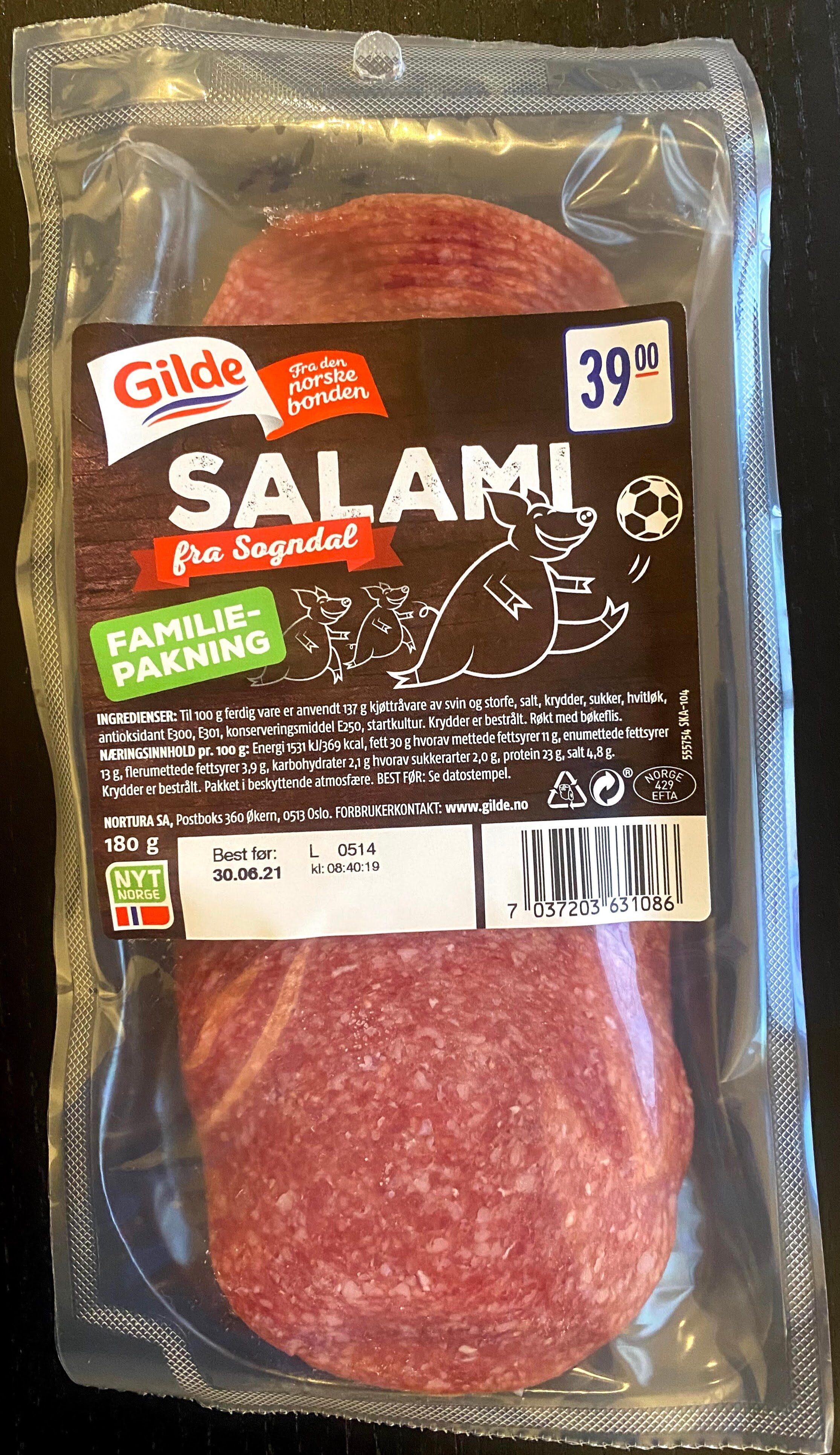 Gilde Salami fra Sogndal - Produit - en