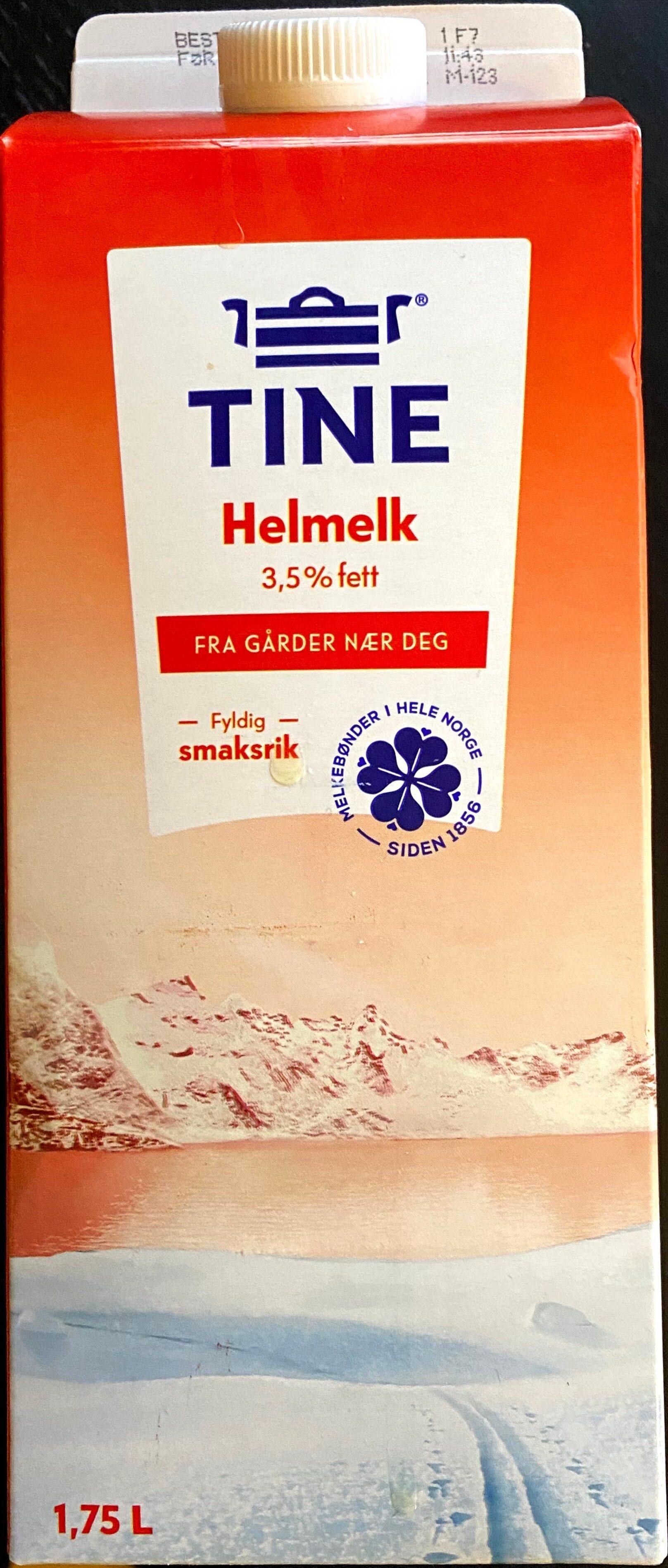 TINE Helmelk - Produit - nb