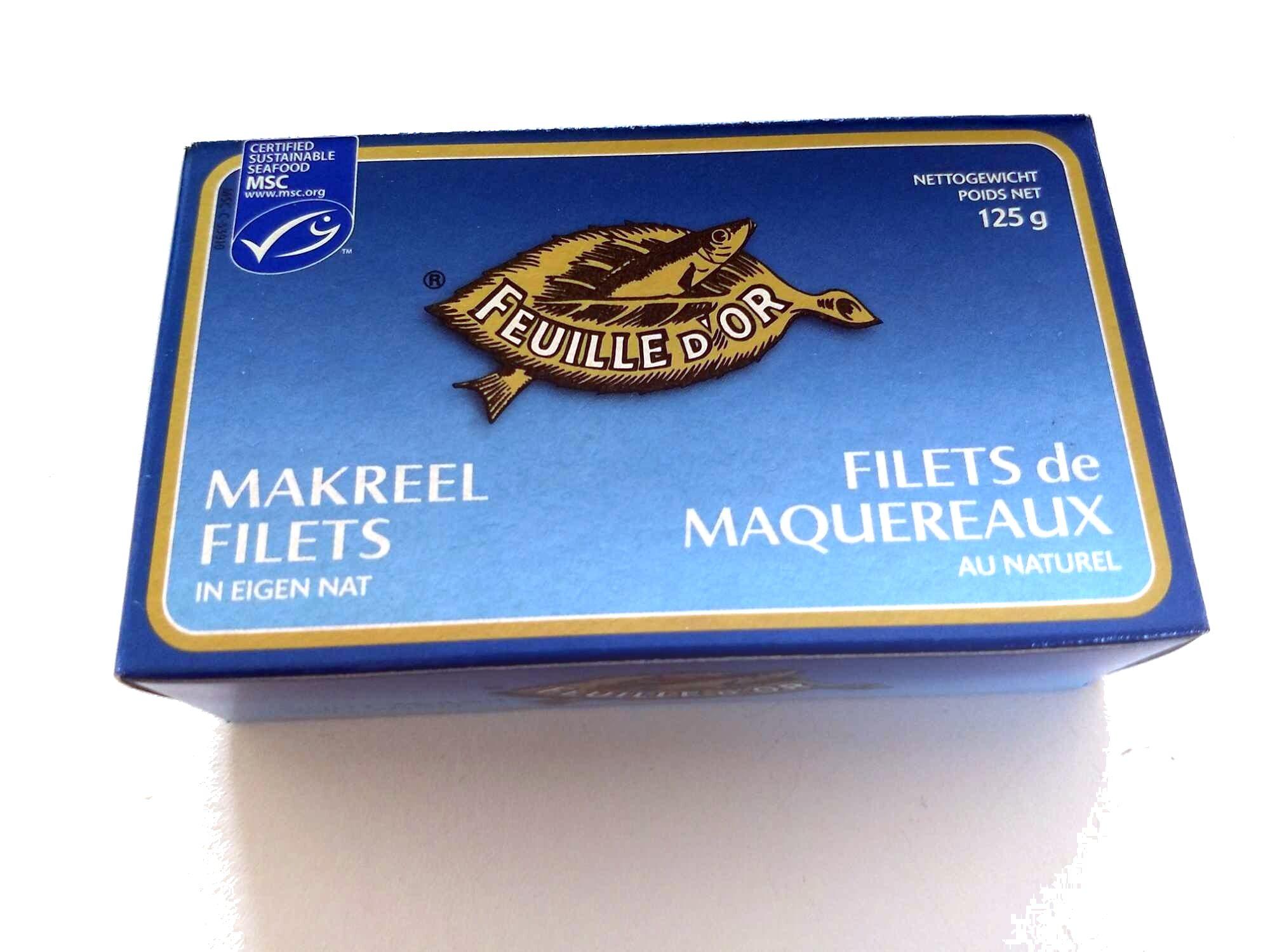 Filets de maquereaux au naturel - Produit - fr
