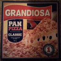 Grandiosa Pan Pizza Classic - Produit - sv