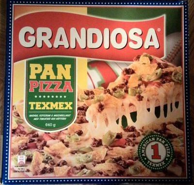 Grandiosa Pan Pizza Texmex - Product - sv