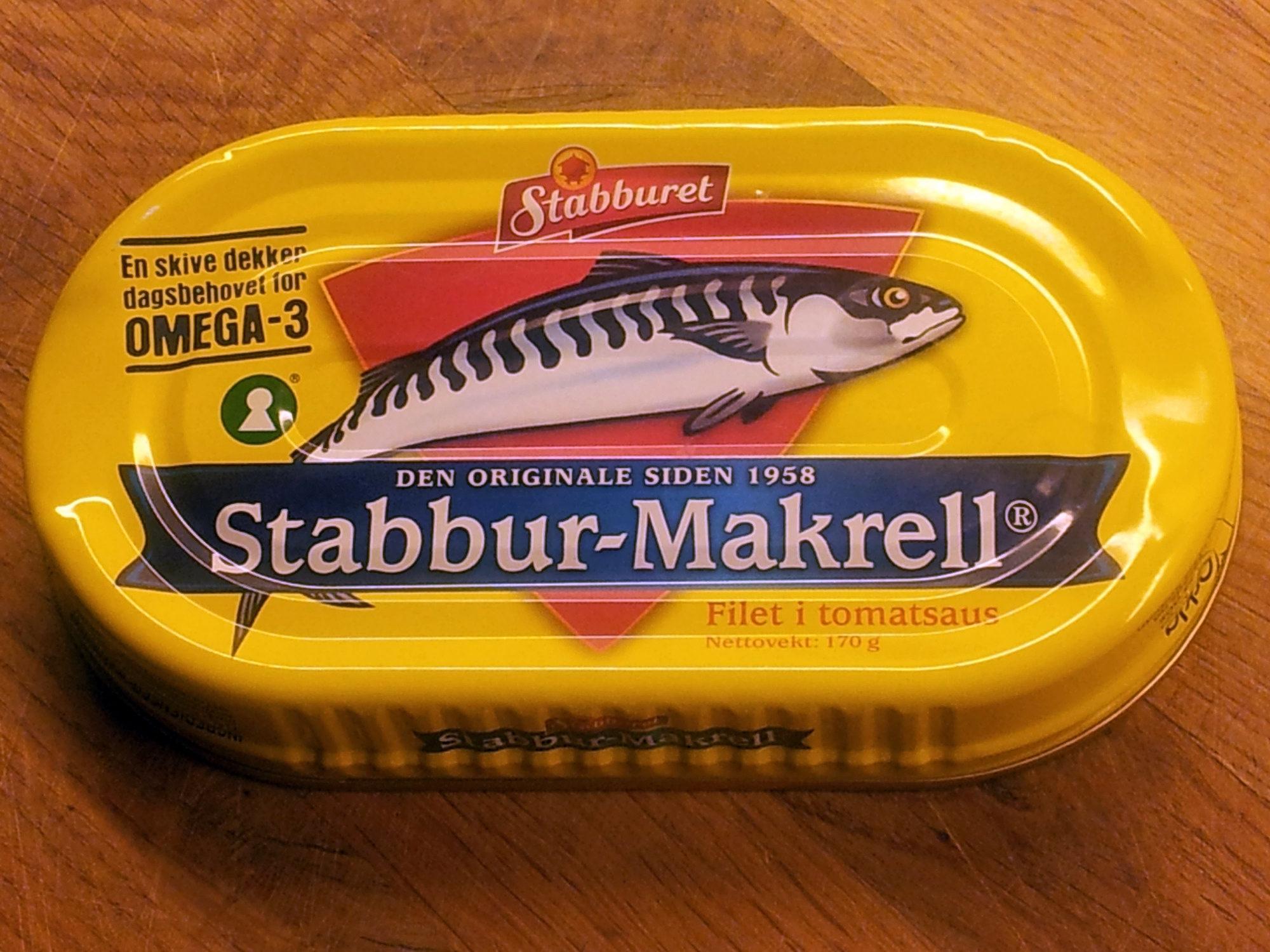 Stabbur-Makrell - Produit