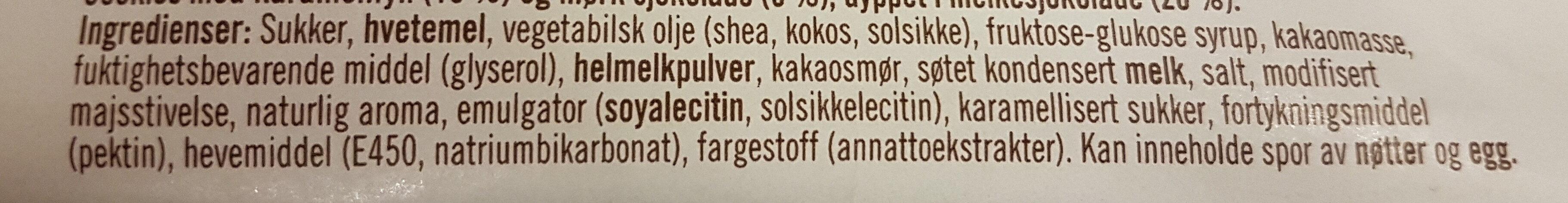- Ingredients - nb
