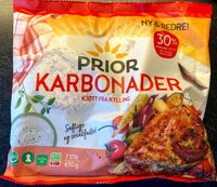 Prior Kylling Karbonader - Produit - nb