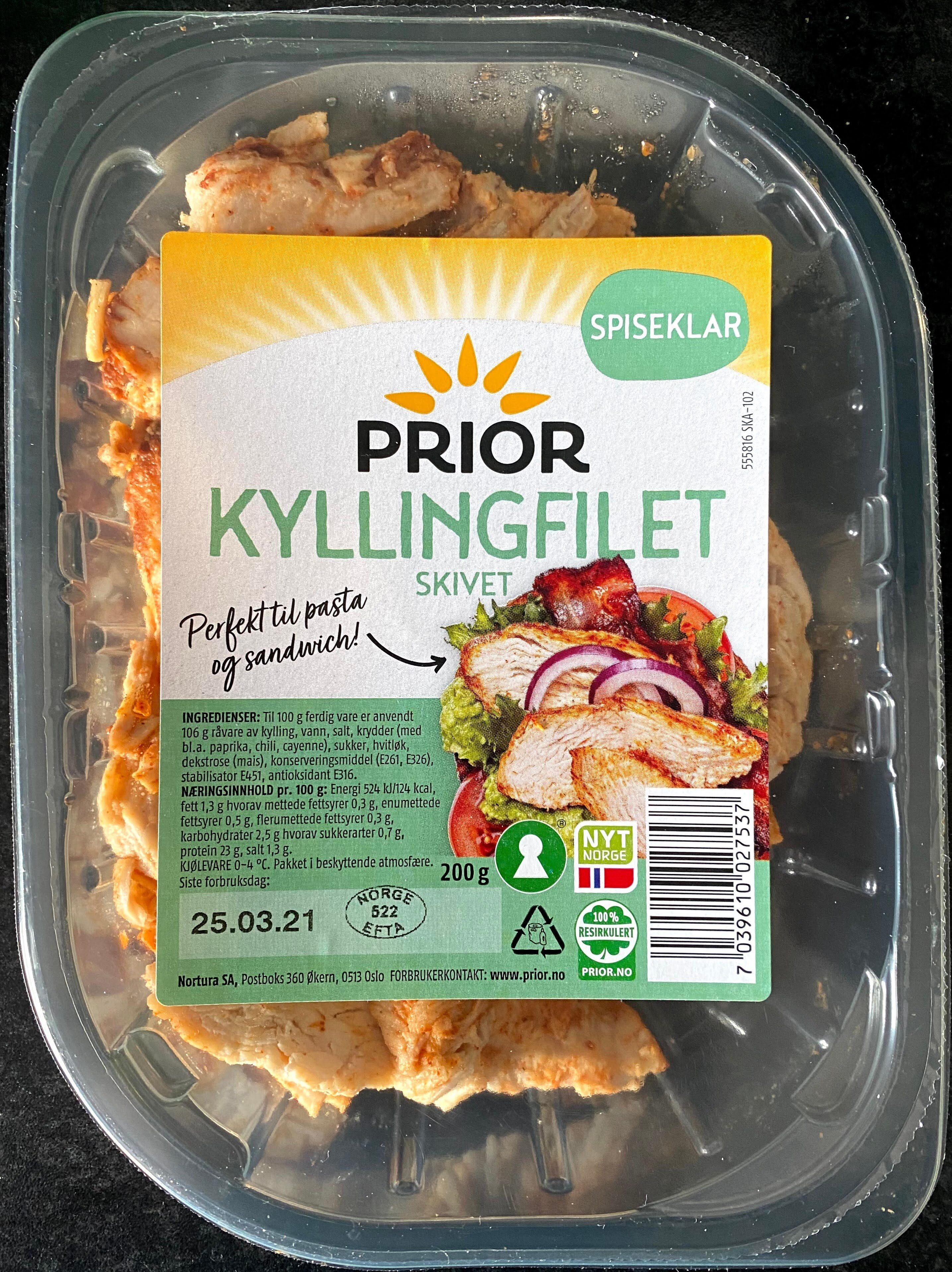 Prior Kyllingfilet Skivet - Produit - en