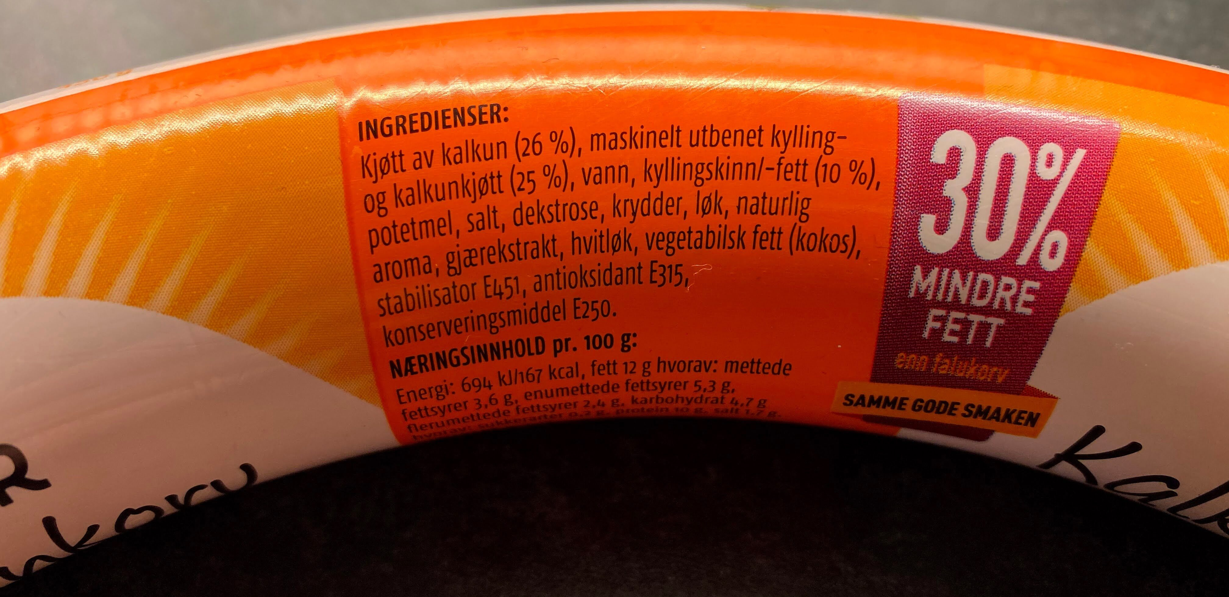 Prior Kalkunkorv - Produit - nb