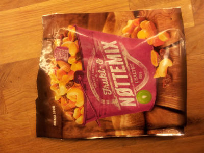 Frukt- & nøttemix - Product - en