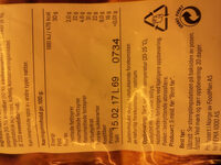 Frukt- & nøttemix - Informations nutritionnelles - nb