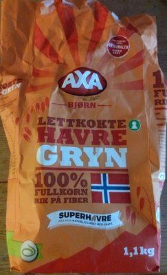 Lettkokte Havregryn 100% fullkorn - Prodotto