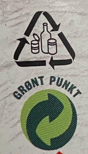 Jædersylte - Instruction de recyclage et/ou informations d'emballage - en