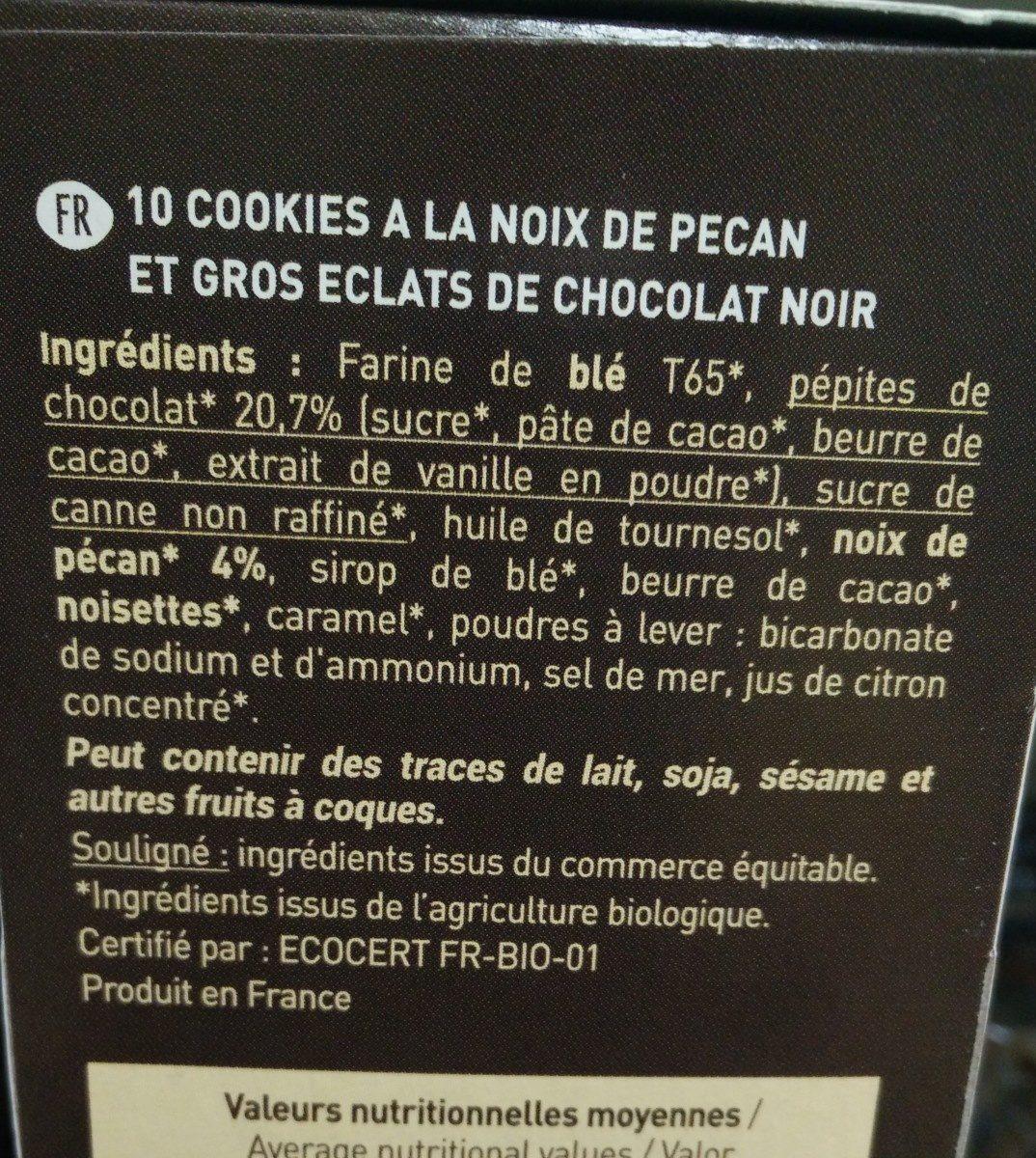 Cookies noix de pécan - Ingredients - fr