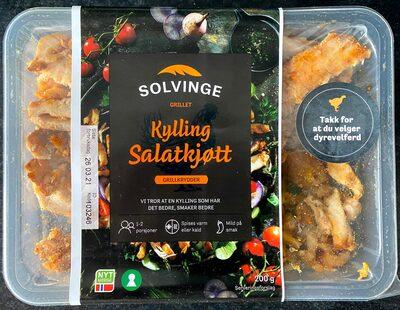 Solvinge Grillet Kylling Salatkjøtt Grillkrydder - Produit - nb