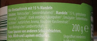 Mandel-Karamellcreme - Ingredients