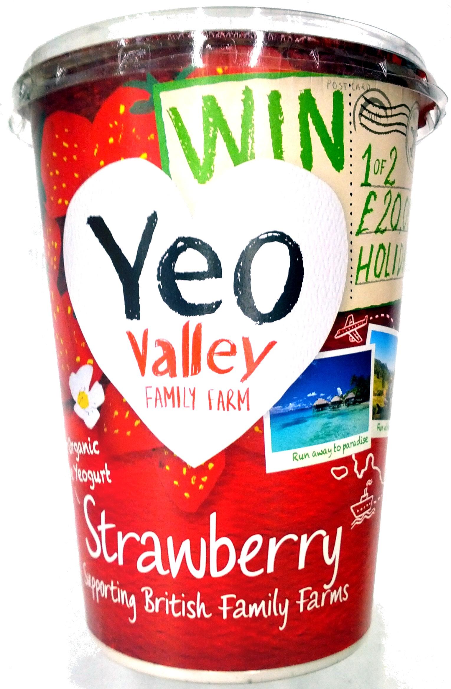 Organic Yogurt Strawberry - Product