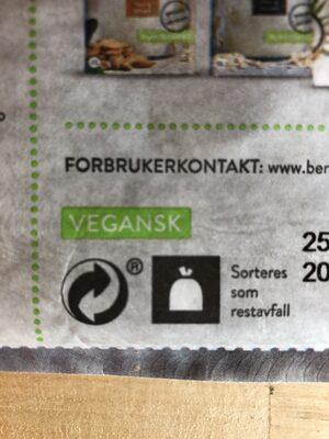 Urkorn granola med puffet quinoa - Instruction de recyclage et/ou informations d'emballage - nb