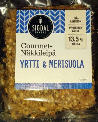Gourmet-Näkkileipä - Yrtti & Merisuola - Tuote - fi