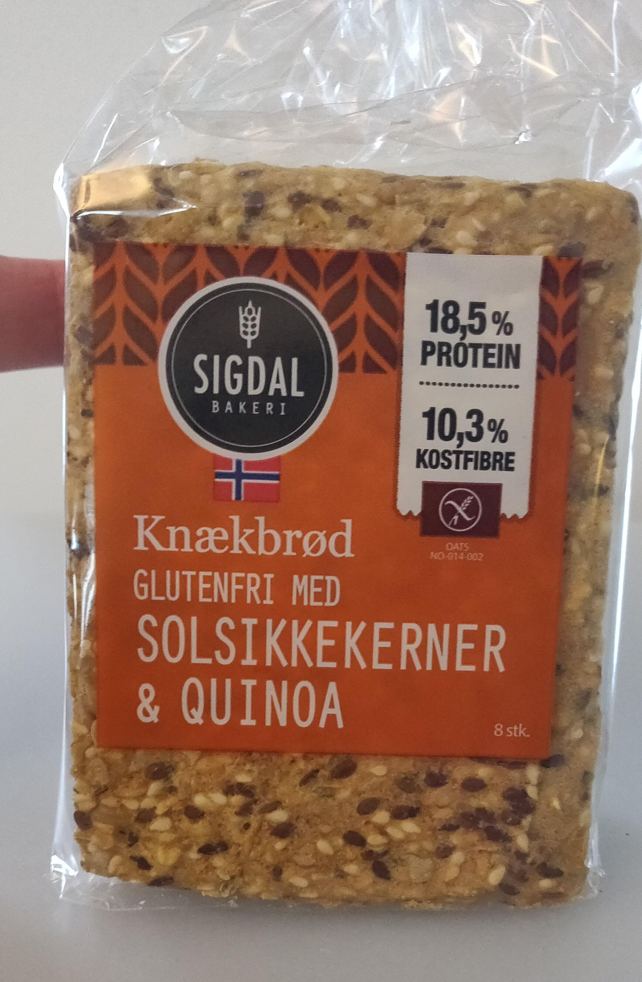 Sigdal Knækbrød - Produit - da