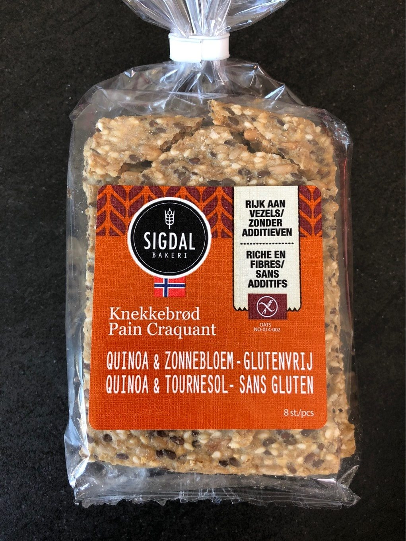 Pain Craquant Norvégien Quinoa Et Tournesol Sans Gluten Sigdal - Product