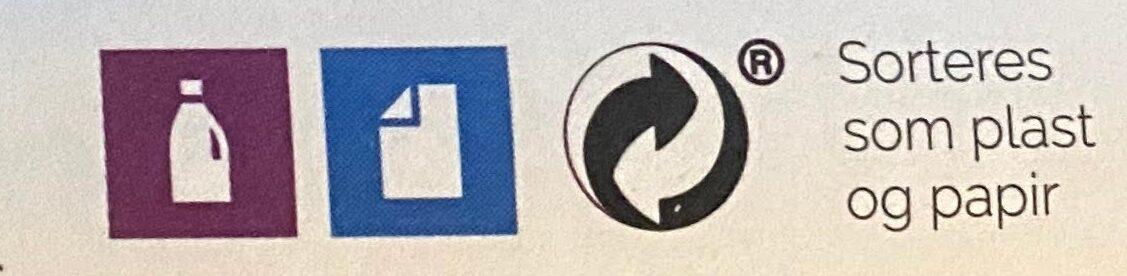 Duga Byggryn Flak - Instruction de recyclage et/ou informations d'emballage - nb
