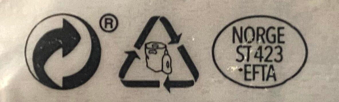 Laksefilet Naturell - Instruction de recyclage et/ou informations d'emballage - en