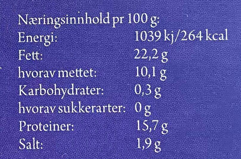 Metervare Lambertseter - Informations nutritionnelles - en
