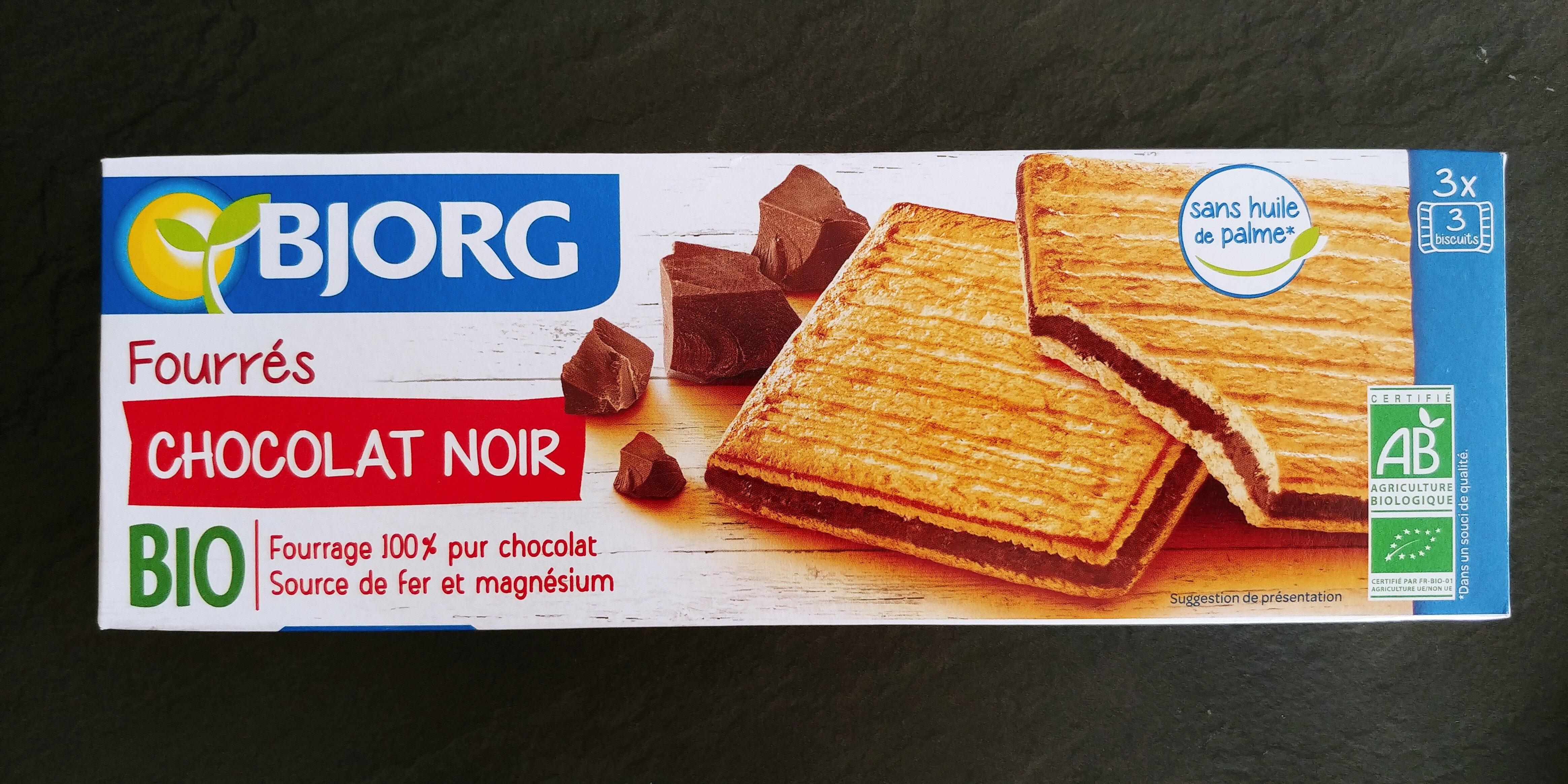 fourrées chocolat noir - Product - fr