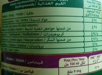 Le Fruit Multifruit - Voedingswaarden - fr