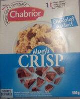 muesli crisp - Product - fr