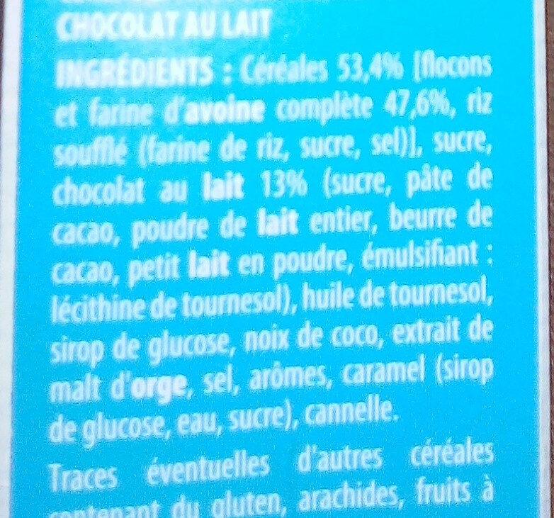 muesli crisp - Ingredients - fr