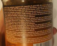 Pasco Brinjal Pickles - Ingrediënten