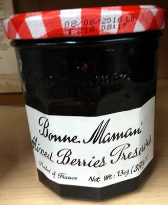 Mixed Berries Preserves - Product - en