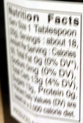 Mixed Berries Preserves - Nutrition facts - en