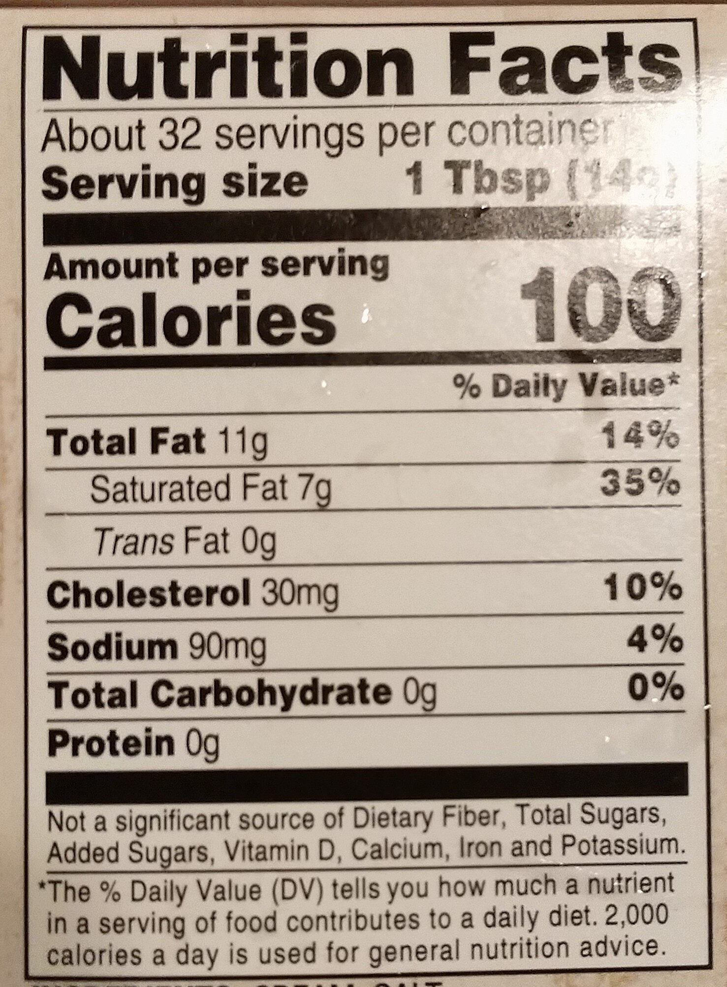 Salted sweet cream butter - Nutrition facts - en