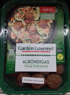 Albóndigas vegetarianas - Product
