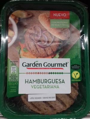 Hamburguesa vegetariana - Producte - es