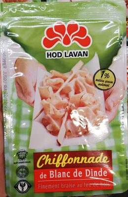 Chiffonnade Blanc Dinde - Product - fr