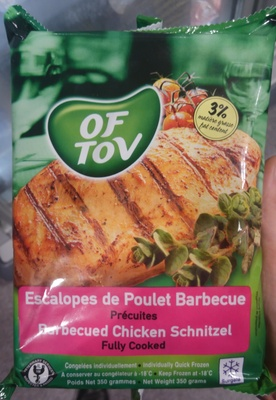 Escalopes de Poulet Barbecue - Product