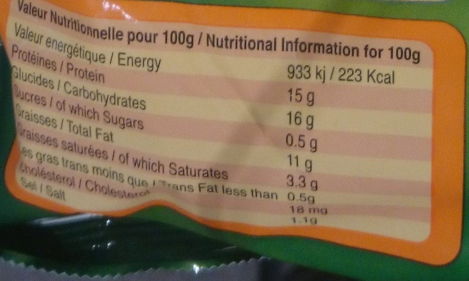 Escalopes Entières de Dinde Panées et Précuites - Nutrition facts