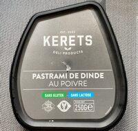Pastrami de dinde - Product - fr