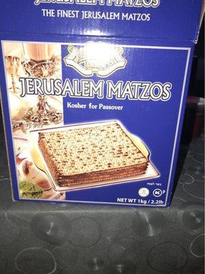 Matza ( Pao Azimo ) 1KG - Produit