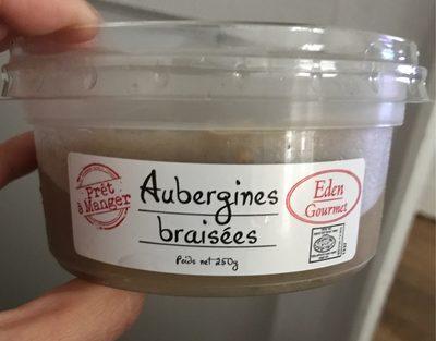 Aubergine braisées - Product