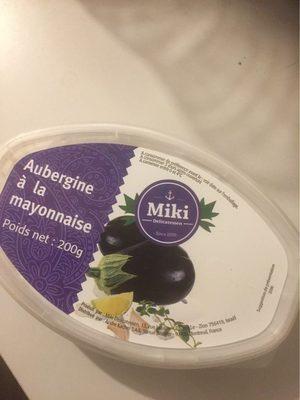 Aubergine a la mayonnaise - Produit - fr
