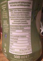 Sodastream Apple Mix - Informations nutritionnelles - fr