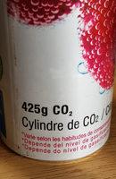 sodastream Kohlensäure-Zylinder - Ingrédients - fr