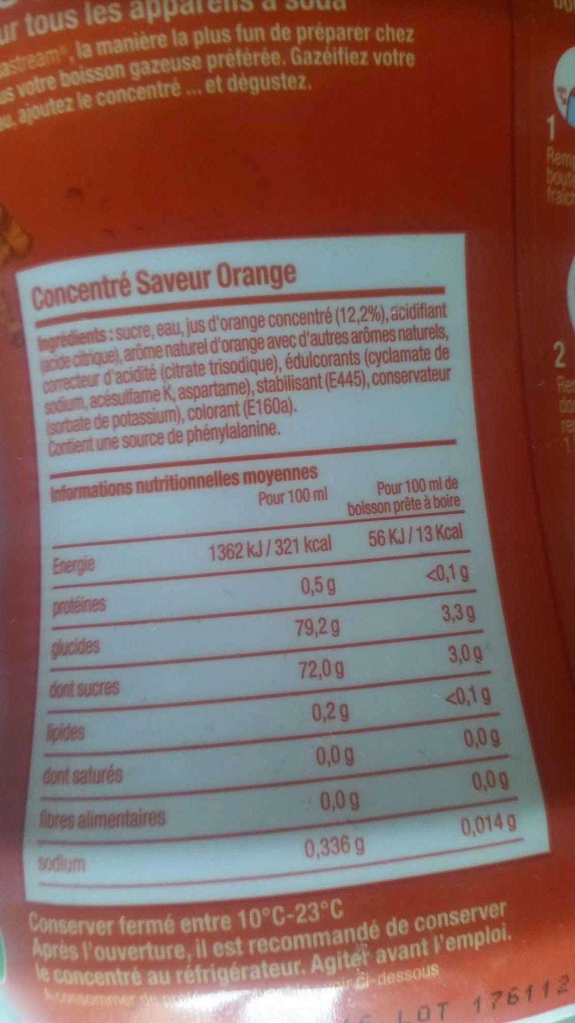sodastream Orangen-Geschmack - Produkt
