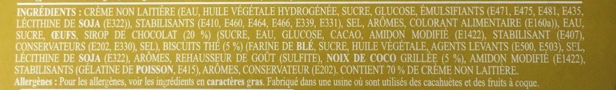 Bavarois - Ingrediënten - fr