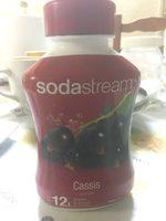 Sodastream - Concentré De Cassis - 3000988 - Ingrédients - fr