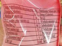 Cacahuètes Enrobées de Croustillants - Informations nutritionnelles - fr