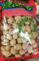 Sesame crunchies, cacahuètes enrobées de croustillant au sésame - Product - fr