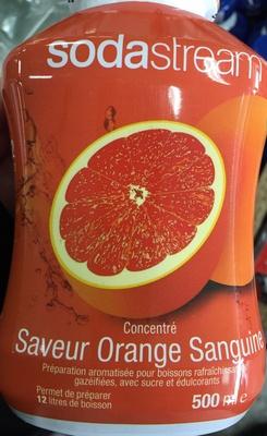 Concentré saveur Orange Sanguine - Product - fr